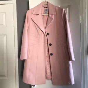 GUC Pink wool blend coat